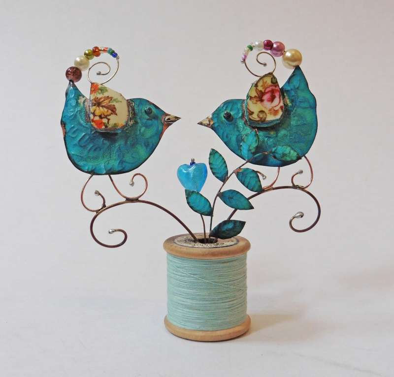Cotton Reel Lovebirds