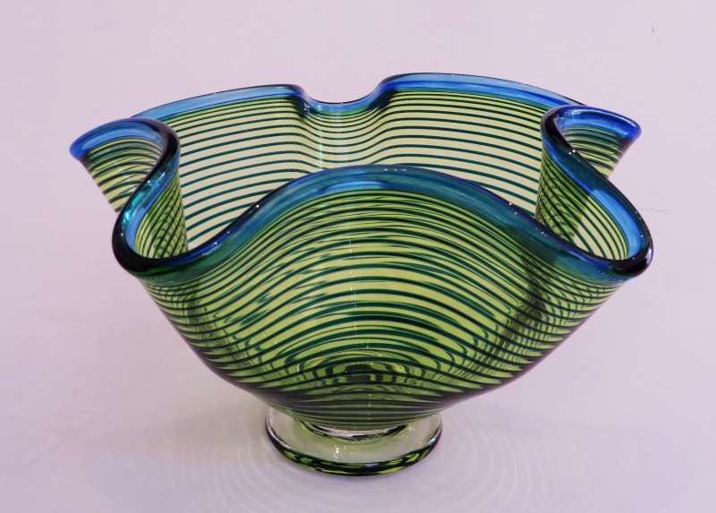 Small Green Venetian Bowl