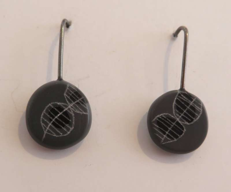 Mini Round Earrings