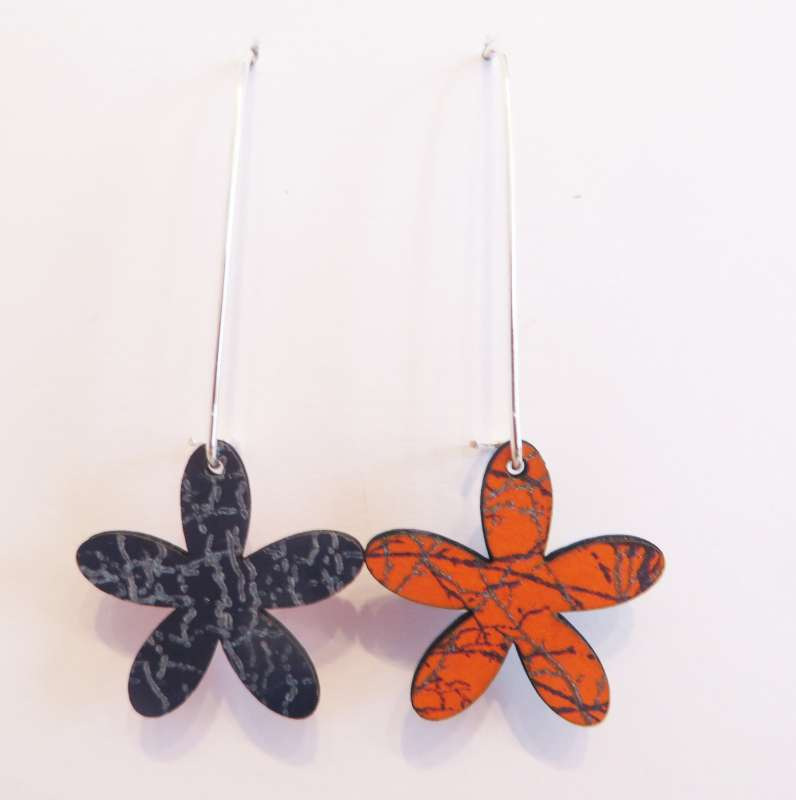 Reversible Flower Earrings