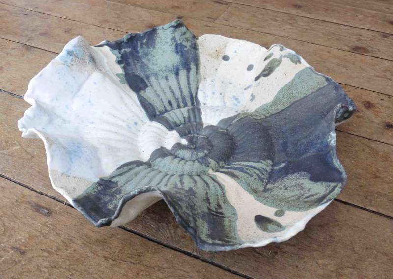 Large Ammonite Bowl I