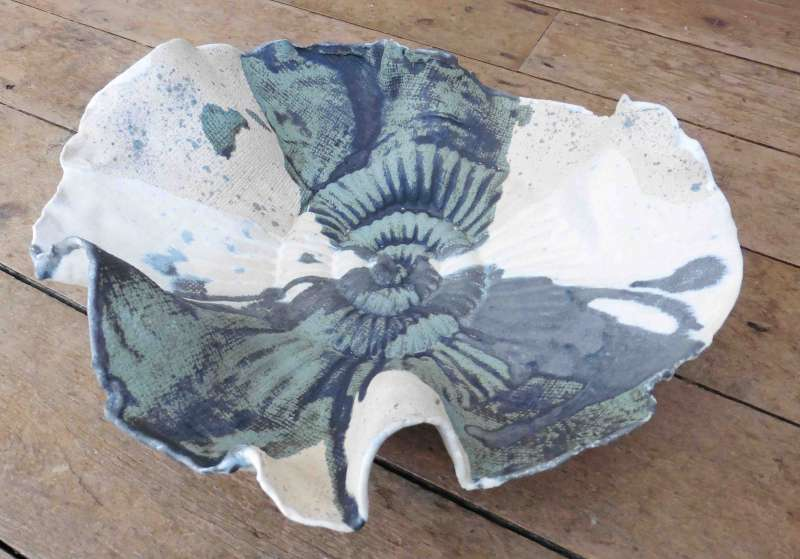 Medium Ammonite Bowl I