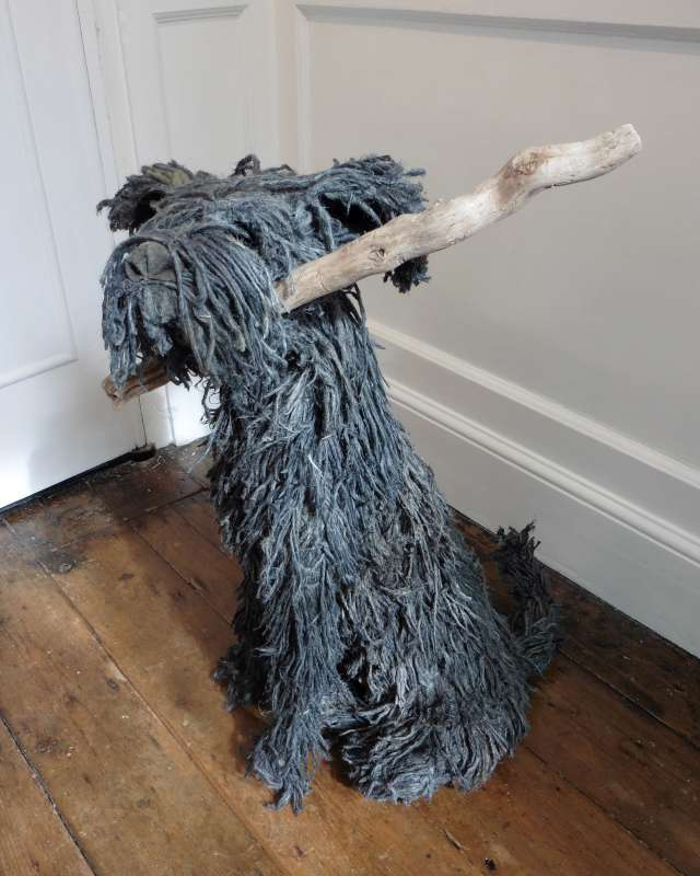 Rope Dog with Stick