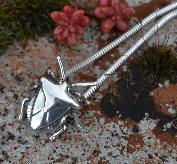 Shield Bug Pendant