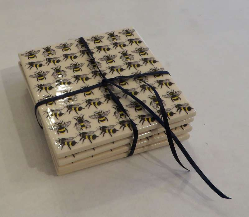 Square Bee Coasters
