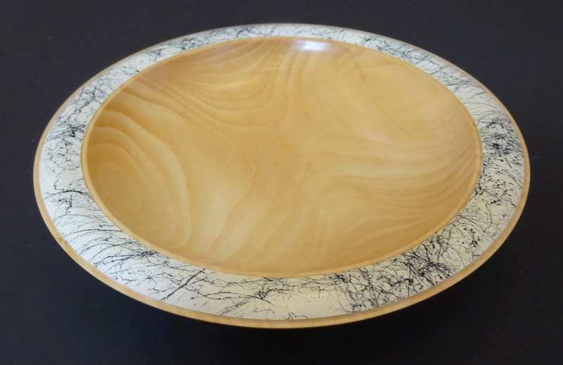 Narrow Rim Splatter Bowl