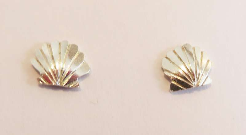 Clam Stud Earrings