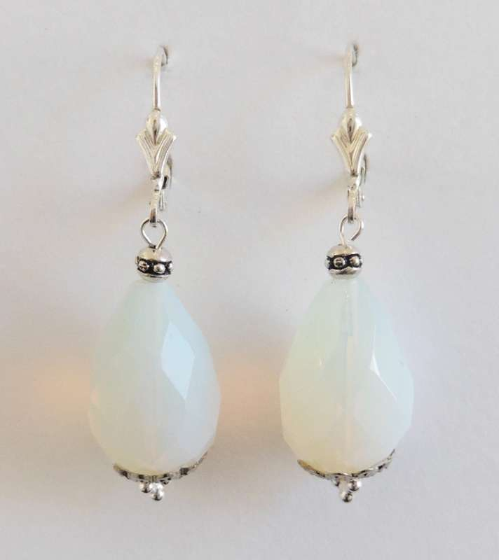 Chinese crystal drop earrings