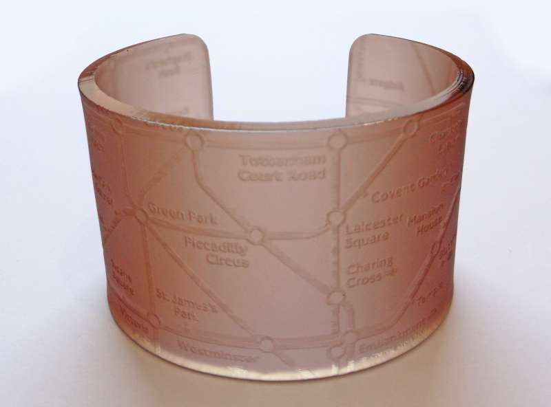 London Cuff - Frosted Brown