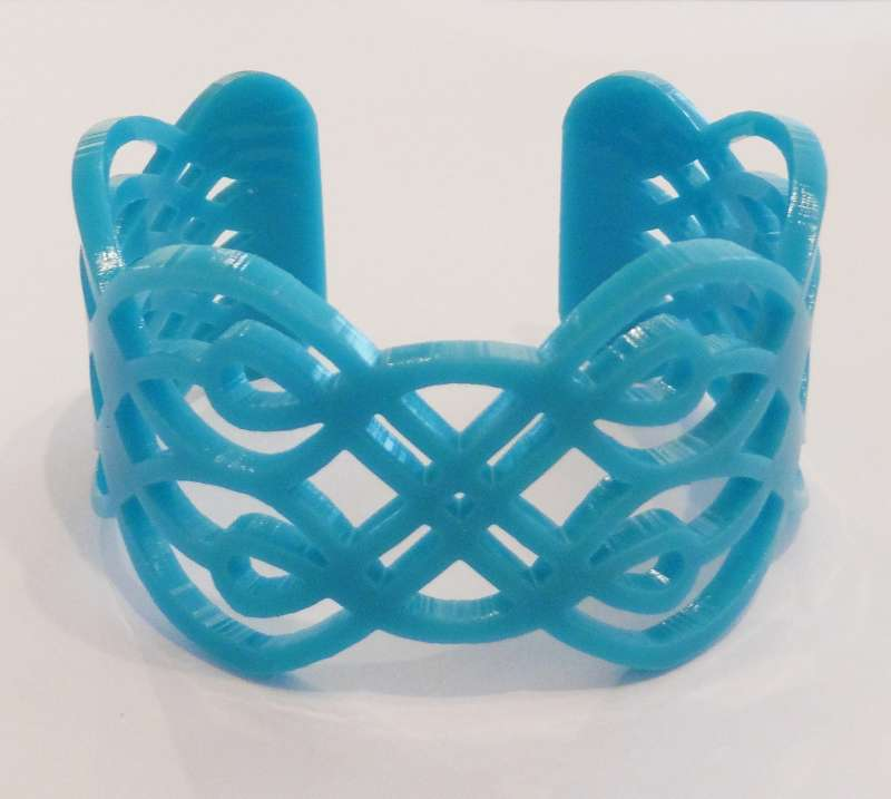 Lace Cuff - Turquoise