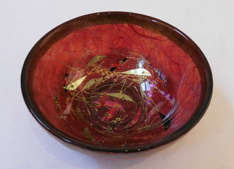 Small Deep Bowl - Red