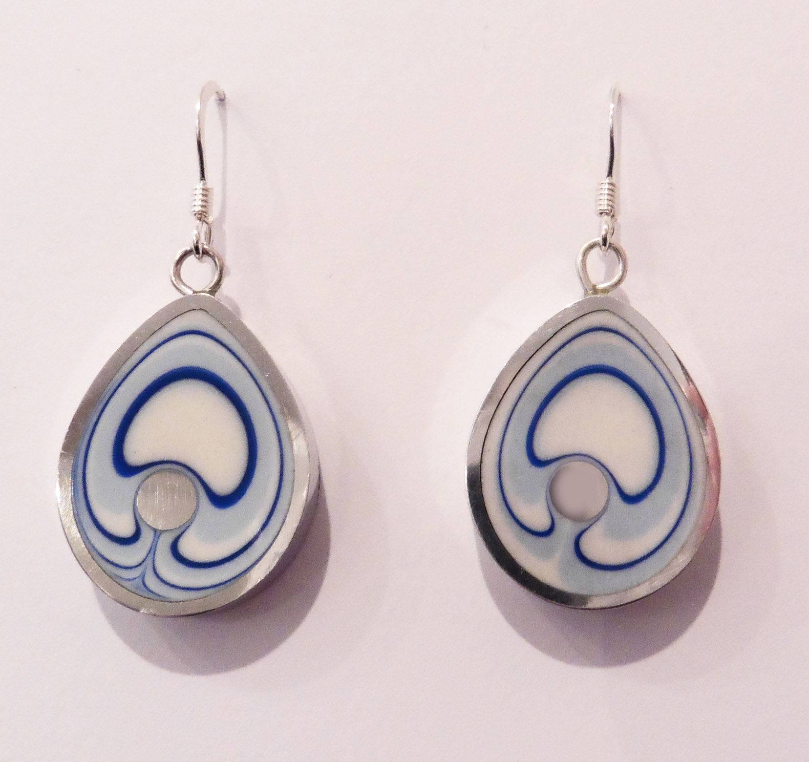 Teardrop seaside earrings
