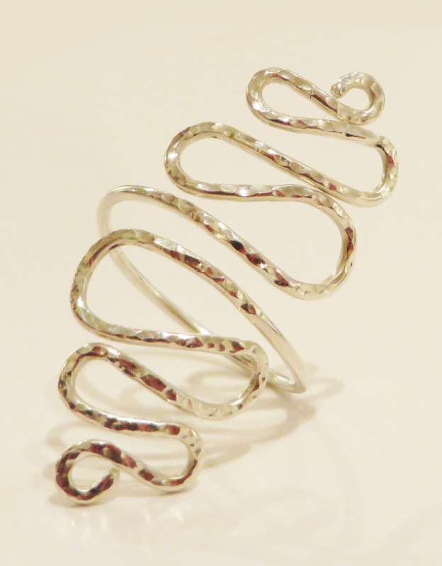 Long Twist Ring