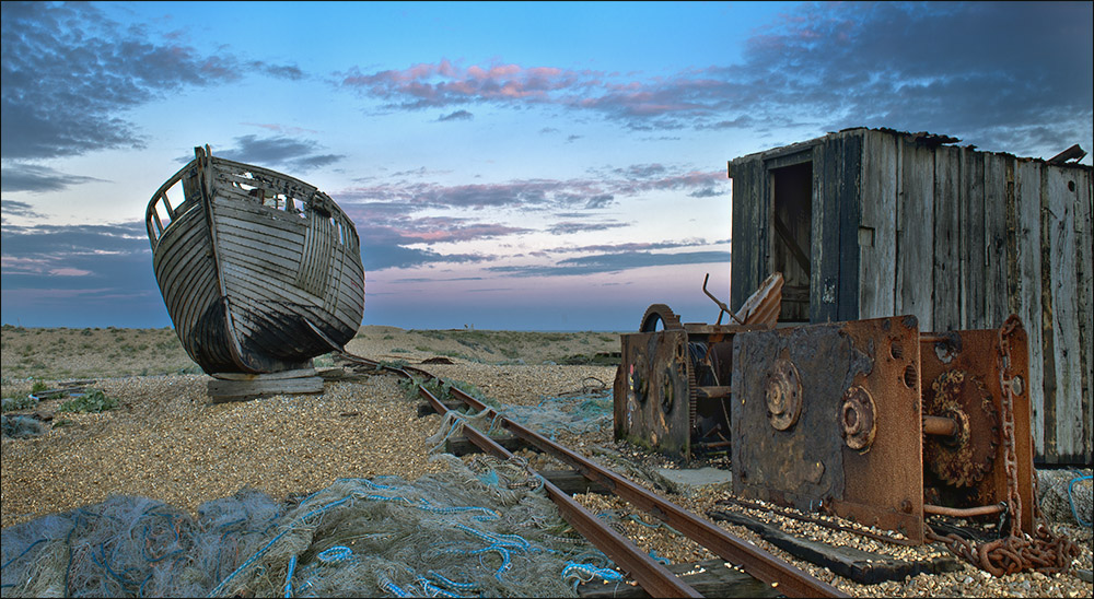 Late Evening, Dungeness 2013