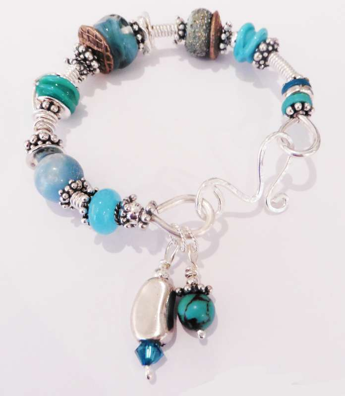 Sea Coloured Bangle