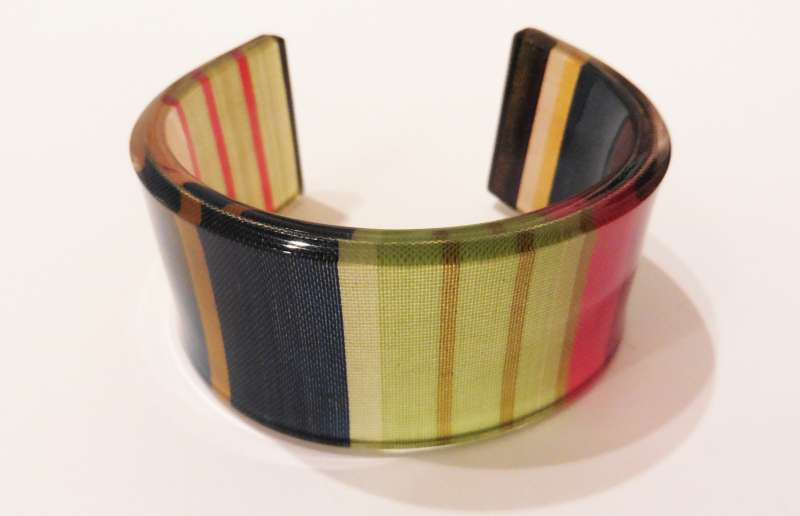 Cotton stripe cuff