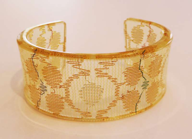 Gold Indian Lace Cuff
