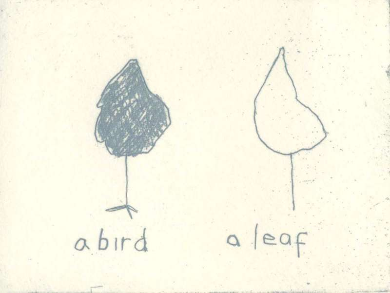 Bird and Leaf 21/60